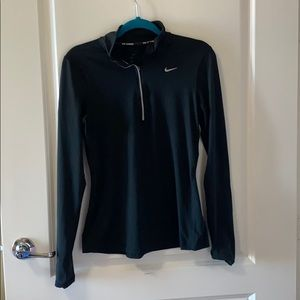 Nike Running: Dri Fit Quarter ZIP